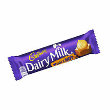 Cadbury DAIRY MILK WHOLE NUT 45g X 23 hazelnut milk chocolate bars. long date
