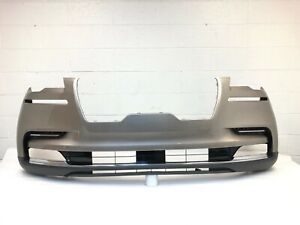 2020-2021 lincoln aviator front bumper with 6 sensors (iced mocha) #2