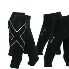 2XU Mens MCS Alpine Compression 3/4 Tights Black Small
