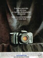 Publicité advertising 1990 Appareil Photo Olympus OM 101