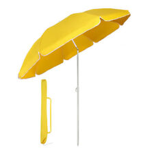 Sonnenschirm Strandschirm Gartenschirm Balkonschirm 160cm Knickbar Polyester
