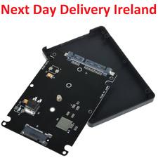 Black B key Socket 2 M.2 NGFF SATA SSD to 2.5 SATA Adapter Card with Case
