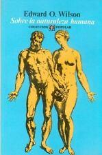 Colección Popular: Sobre la Naturaleza Humana by Edward O. Wilson (1980,...