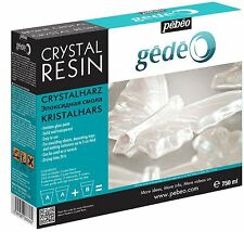 Pebeo Gedeo Crystal Resin Clear Transparent Epoxy Resin for Casting 750 ml PEBEO