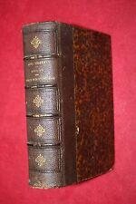 RECITS DES TEMPS MEROVINGIENS  A. THIERRY éd FURNE  1851  2 TOMES EN 1 VOLUME