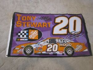 Tony Stewart #20 NASCAR 3x5 flag Home Depot Racing grommets