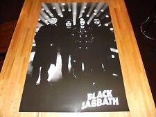 Black Sabbath Poster 24 X 36 Out of Print Ozzy Osbourne Tony Iommi Bill Ward