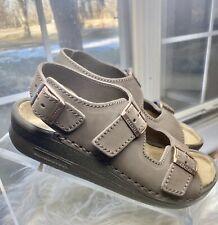 Birkenstock Tatami Nebraska Sandals Mocha Brown Sz 38 L 7