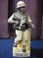 Vietnam War Statue USMC Decanter Mt Hope Winery 1986