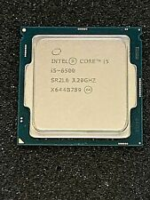 Intel Core i5-6500 6th Gen 3.20GHz Quad Core Desktop CPU Processor SR2L6 Tested