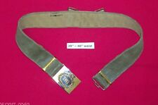 Green Howard's web belt with buckle
