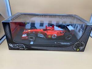 Hot Wheels Ferrari 150 Gp Model Car 1:18. Unused Original Package Top Condition