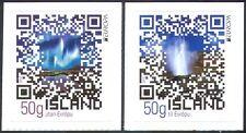 Islanda 2012 TURISMO/Aurora/VULCANICA GEYSER/NATURA/codice QR 2v Set S/A (n42361)