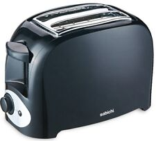 Sabichi 2 Slice Black Toaster With Adjustable Browning controls