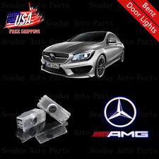 Car LED Door Laser Projector Red AMG Logo Lights For Mercedes-Benz C E CLA CLS
