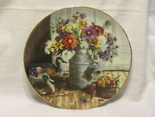 Vtg W S George Collection Third Issue Homespun Beauty 1991 Plate Mib Coa