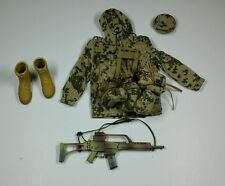 Armoury 1/6 *RARE* German Tropentarn Uniform & Equipment Set A.