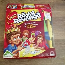 Uno Royal Revenge Family Game Childrens Indoors Inside Fun Card