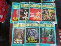 7 x John Sinclair 2.Auflage : 445, 450, 456, 460 - 463