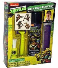 Teenage Mutant Ninja Turtles TMNT Kid Bath Time Toy Play Shave Kit Set
