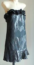 Acrylic Geometric Regular Size Dresses for Women