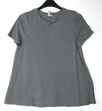 GREY LADIES CASUAL TOP BLOUSE SIZE 10 ASOS