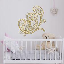 Wall Decals Owl for Girl Room Decoration Vinyl Sticker Home Decor Nursery EG58