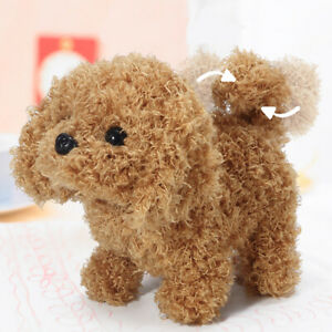 Electronic Plush Animated Walking Dog for Kids Companion Puppy Toddler Toy Gift