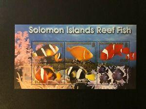 SOLOMON 2001 Fish , Bird , Marine Life Sc 926a , MNH
