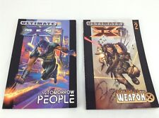 Ultimate X-Men Tomorrow People & Return to Weapon X Graphic Novel Marvel Lot
