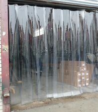 """PLASTIC DOOR STRIP  CURTAIN ~ COOLERS / FREEZERS / REFRIGERATOR ~ 26"""" DOOR"""