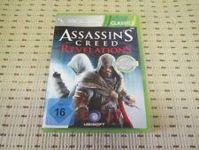 Assassin's Creed revelations pour Xbox 360 xbox360 * Neuf dans sa boîte * C