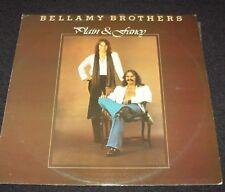 BELLAMY BROTHERS - PLAIN & FANCY, LP VINYL RECORD