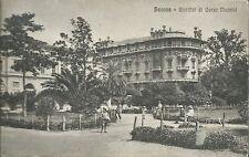 Cartolina di Savona - Giardini di Corso Mazzini -  Non viaggiata anni 20