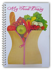 A5 Slim Cintura dieta diario, adelgazar Tracker, mi diario de alimentos, pérdida de peso diario