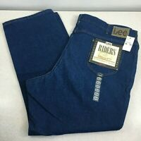 Vintage Lee Riders Mens Fit Straight Union MADE IN USA Jeans 48 x 30 DEADSTOCK