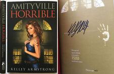Amityville Horrible Kelley Armstrong SIGNED ltd Subterranean Press vampire NEW!!