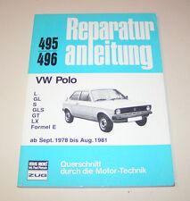 Reparaturanleitung VW Polo I ( Typ 86) - Baujahre 1978 bis 1981!