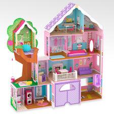 Kidkraft Treehouse Retreat Mansion Wooden Dollhouse Girls Toy Dolls House