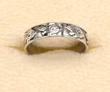 Adorable Sterling Silver Tree Frog Ring Poison Arrow Frog Size 4-½