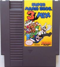 Super Mario Bros. 3 Mix rom hack NES Nintendo USA NTSC video game cart brothers