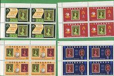 20 Sets of 1971 Grenada Stamps 417 - 420 Cat Value $38 Queen Elizabeth II