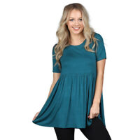 Short Sleeve Empire Tunic