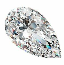 Real 1.03ct White Diamond - Natural Loose F Color I1Clarity GIA Certified pear