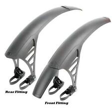 Hybrid/Comfort Bike Rear Permanent Bicycle Mudguards