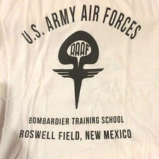 WWII US Air Force Bombardier Roswell Repro T Shirt, Men's size 3XL / XXXL
