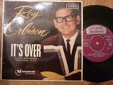 "ROY ORBISON ""IT'S OVER"" U.K.  EP LONDON RE-U 1435"