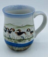 Dog Beagle Lovers ART POTTERY Coffee or Tea Mug