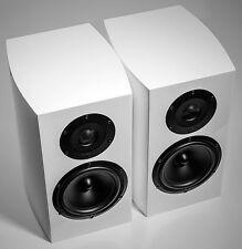 Atohm GT1.0 WHITE Bookshelf Speakers - 2-way Bass Reflex - Ex Display