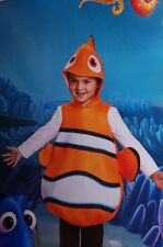 Boys Girls Finding Dory NEMO Halloween Costume Fish Outfit Toddler Sm 4T 4 6 NEW